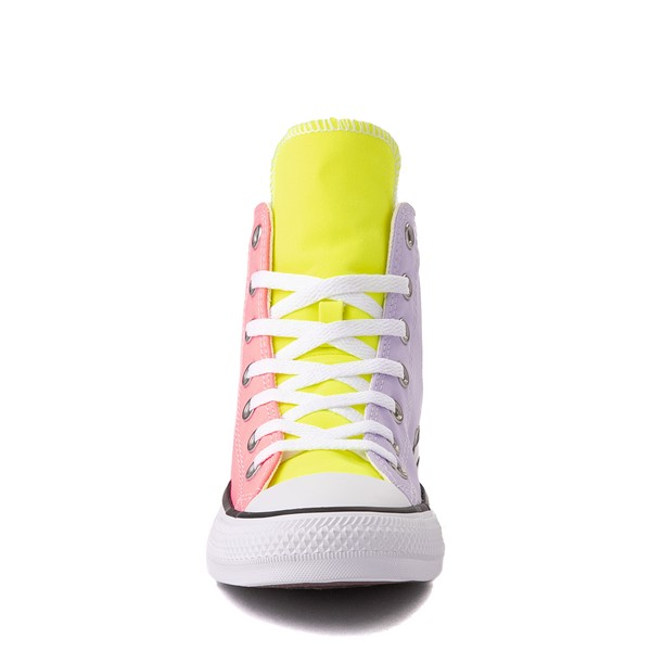 alternate image alternate view Converse Chuck Taylor All Star Hi Sneaker - Neon Color-BlockALT4
