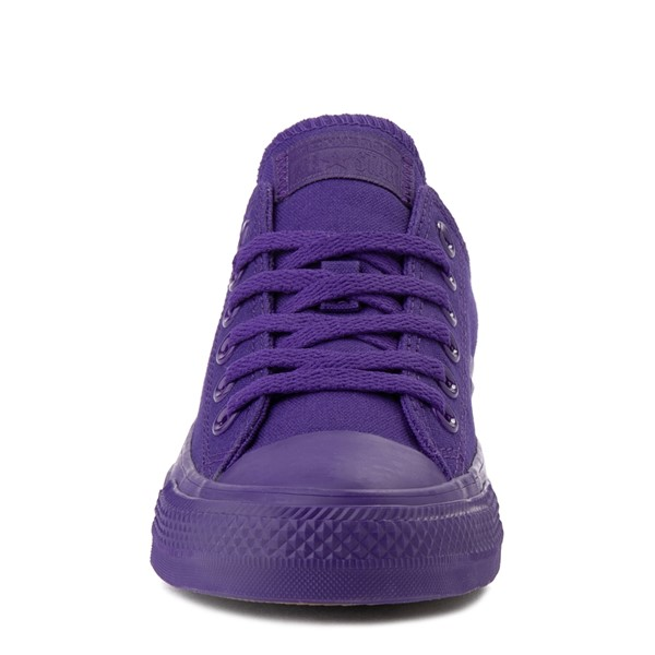 alternate image alternate view Converse Chuck Taylor All Star Lo Monochrome Sneaker - Court PurpleALT4