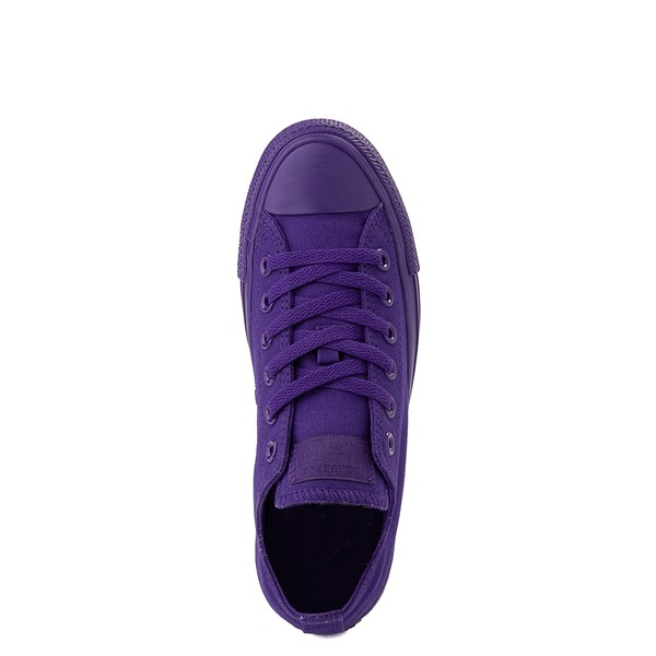 alternate image alternate view Converse Chuck Taylor All Star Lo Monochrome Sneaker - Court PurpleALT4B