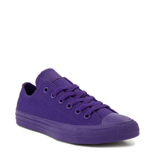 alternate image alternate view Converse Chuck Taylor All Star Lo Monochrome Sneaker - Court PurpleALT5