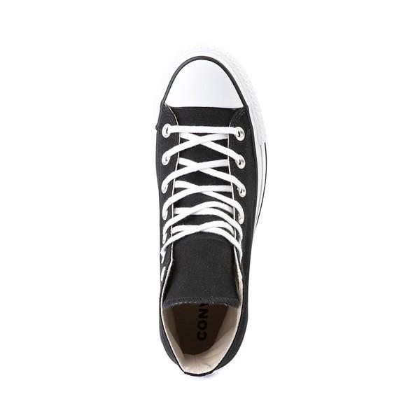 alternate image alternate view Womens Converse Chuck Taylor All Star Lift Hi Sneaker - Black / WhiteALT2