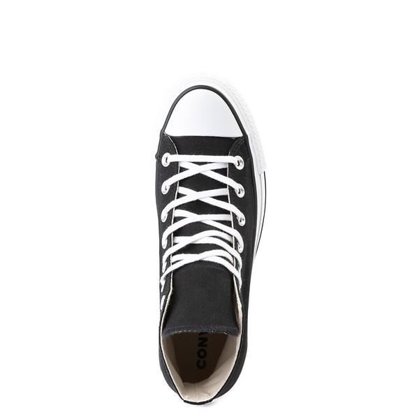 alternate image alternate view Womens Converse Chuck Taylor All Star Lift Hi Sneaker - Black / WhiteALT4B
