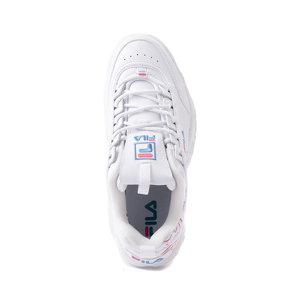 alternate view Womens Fila Disruptor 2 Rose Athletic Shoe - WhiteALT2