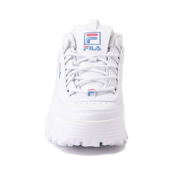 alternate view Womens Fila Disruptor 2 Rose Athletic Shoe - WhiteALT4