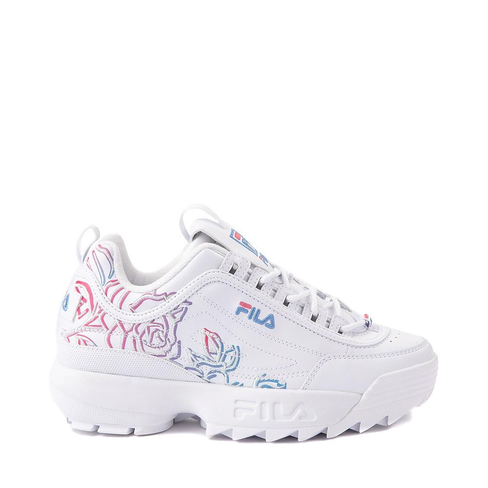 Womens Fila Disruptor 2 Rose Athletic Shoe - White