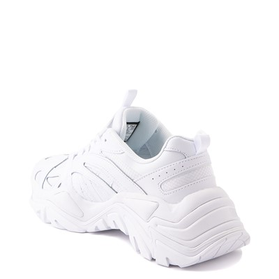 Alternate view of Womens Fila Electrove Athletic Shoe - White Monochrome