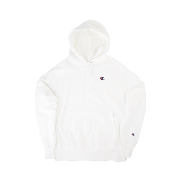 alternate image alternate view Mens Champion Reverse Weave Hoodie - WhiteALT2