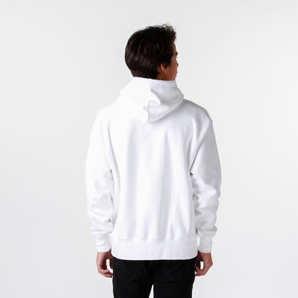 alternate image alternate view Mens Champion Reverse Weave Hoodie - WhiteALT4