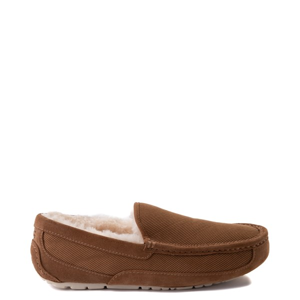 Main view of Mens UGG® Ascot Corduroy Slip On Casual Shoe - Chestnut