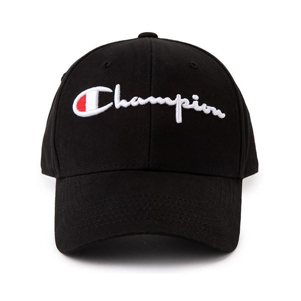 Main view of Champion Classic Twill Dad Hat - Black