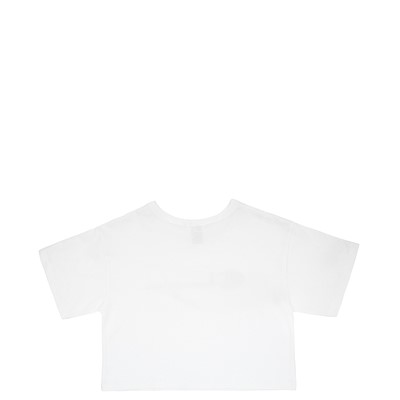 Alternate view of Womens Champion Cropped Tee - White
