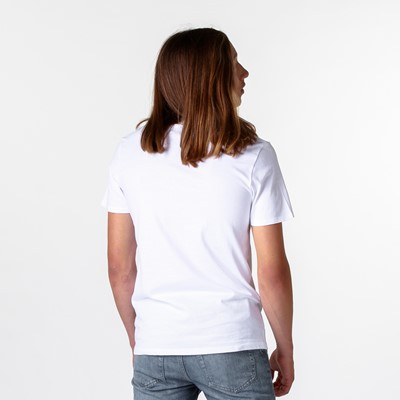 Alternate view of Mens Levi's Two Horse Logo Tee - White
