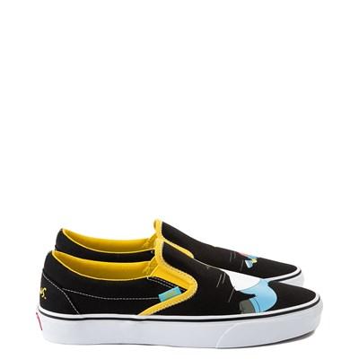 Alternate view of Vans x The Simpsons Slip On Homer and Bart Skate Shoe - Black