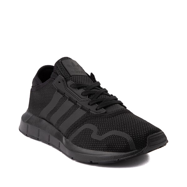 alternate image alternate view Mens adidas Swift Run X Athletic Shoe - Black MonochromeALT5