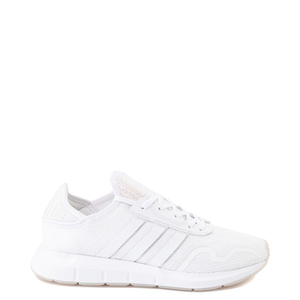 Main view of Womens adidas Swift Run X Athletic Shoe - White Monochrome