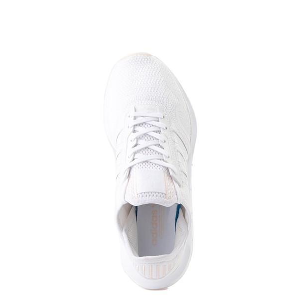 alternate image alternate view Womens adidas Swift Run X Athletic Shoe - White MonochromeALT2