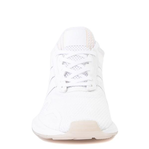 alternate image alternate view Womens adidas Swift Run X Athletic Shoe - White MonochromeALT4