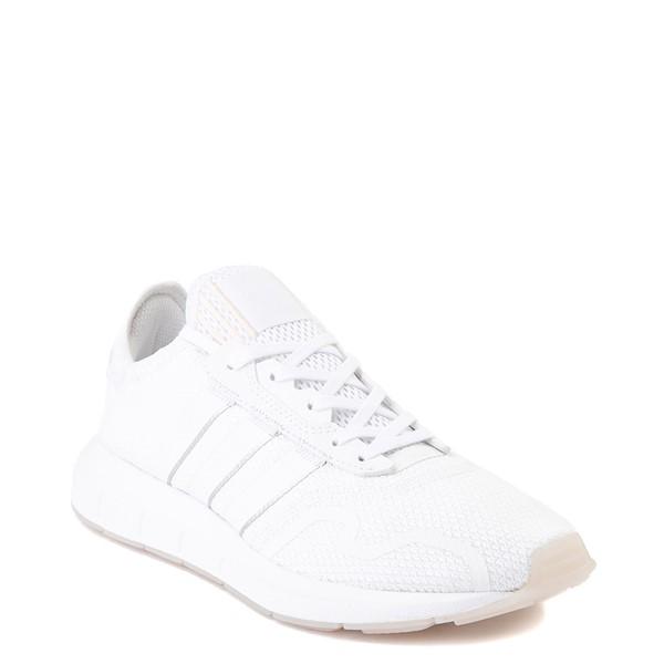 alternate image alternate view Womens adidas Swift Run X Athletic Shoe - White MonochromeALT5
