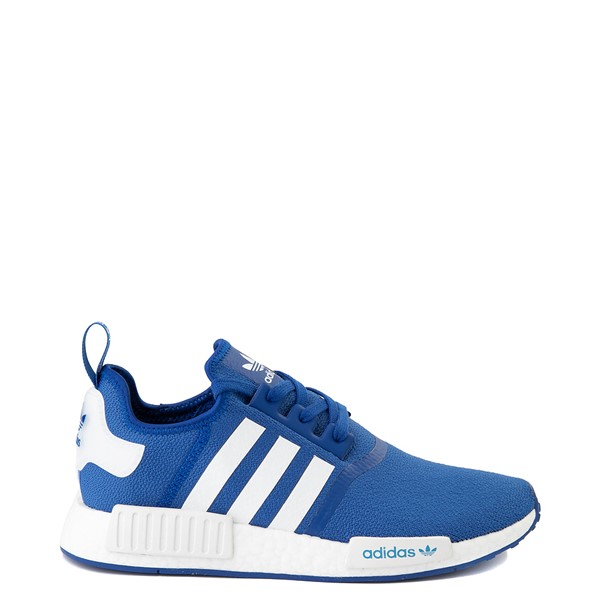 Main view of Mens adidas NMD R1 Athletic Shoe - Royal Blue