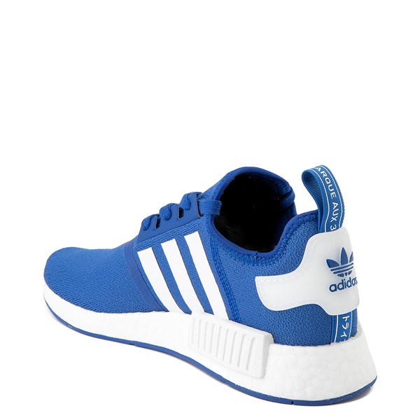 alternate image alternate view Mens adidas NMD R1 Athletic Shoe - Royal BlueALT1