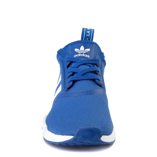 alternate image alternate view Mens adidas NMD R1 Athletic Shoe - Royal BlueALT4