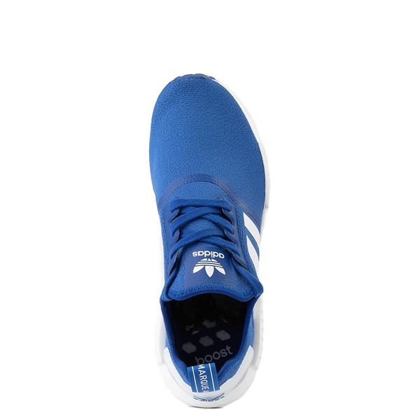 alternate image alternate view Mens adidas NMD R1 Athletic Shoe - Royal BlueALT4B