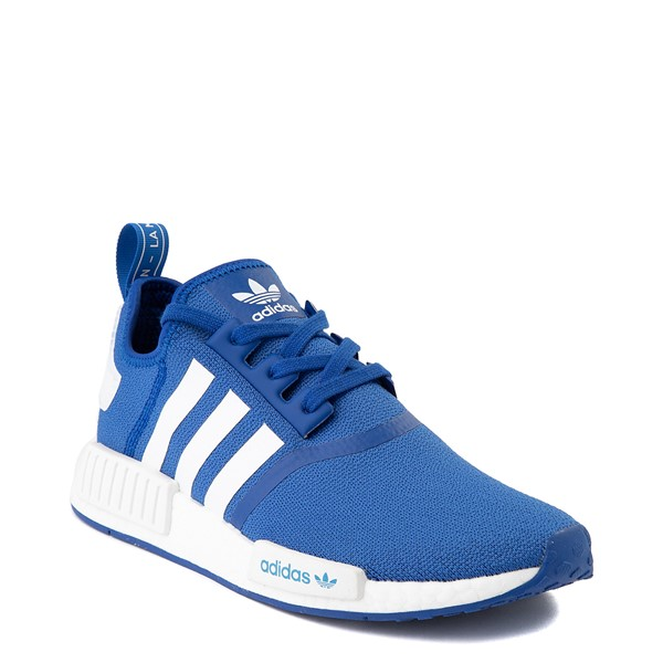alternate image alternate view Mens adidas NMD R1 Athletic Shoe - Royal BlueALT5