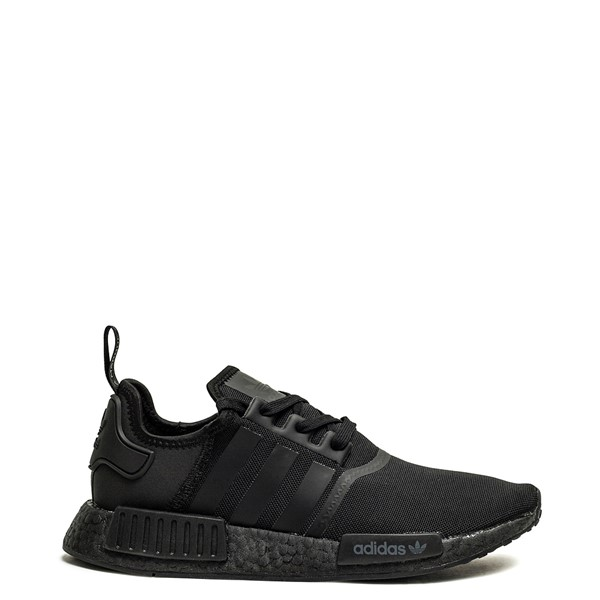 Mens adidas NMD R1 Athetic Shoe - Black Monochrome