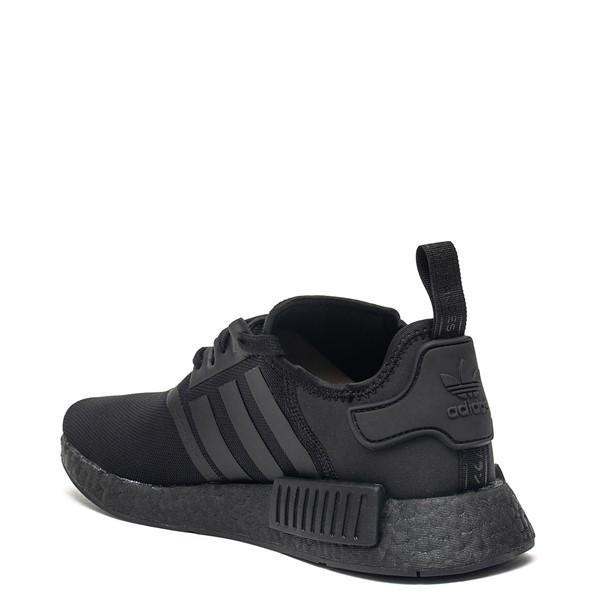 alternate image alternate view Mens adidas NMD R1 Athetic Shoe - Black MonochromeALT1