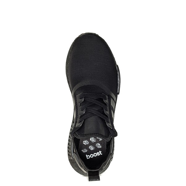 alternate image alternate view Mens adidas NMD R1 Athetic Shoe - Black MonochromeALT2