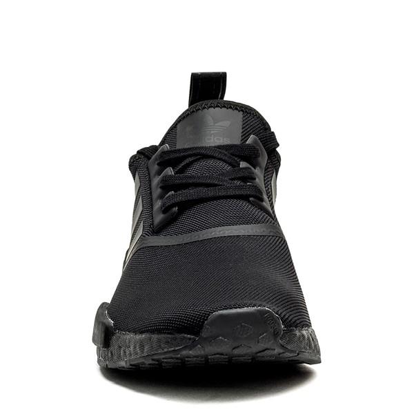 alternate image alternate view Mens adidas NMD R1 Athetic Shoe - Black MonochromeALT4