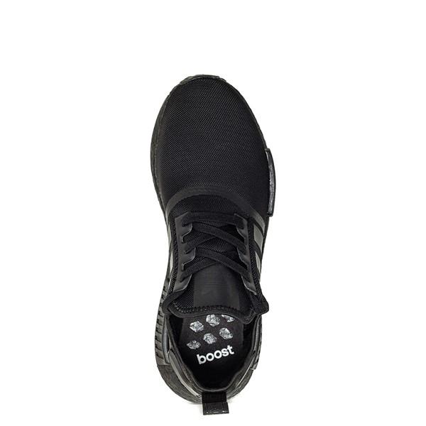 alternate image alternate view Mens adidas NMD R1 Athetic Shoe - Black MonochromeALT4B