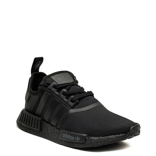 alternate image alternate view Mens adidas NMD R1 Athetic Shoe - Black MonochromeALT5