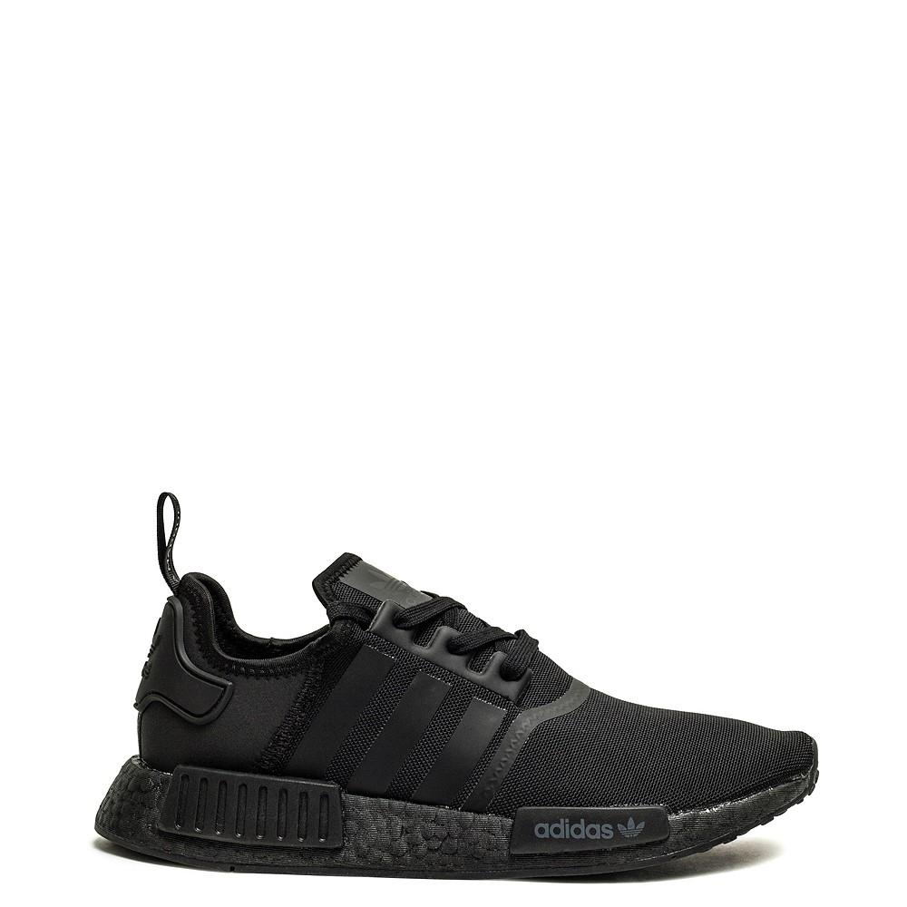 Mens adidas NMD R1 Athetic Shoe - Black Monochrome