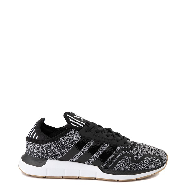 Main view of Mens adidas Swift Run X Athletic Shoe - Black / Grey