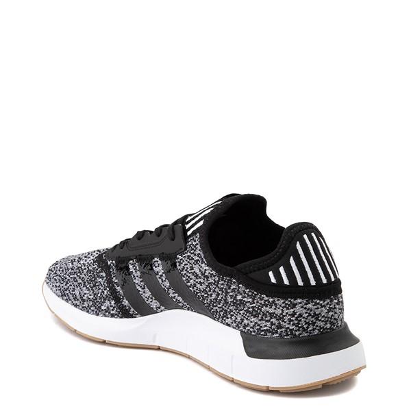 alternate image alternate view Mens adidas Swift Run X Athletic Shoe - Black / GreyALT1