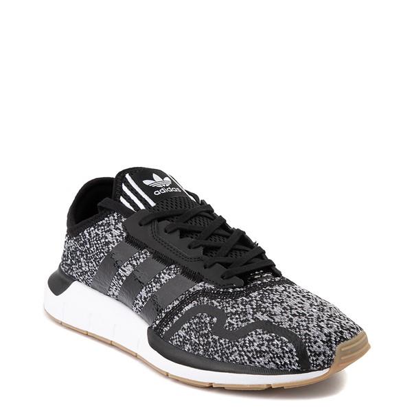 alternate image alternate view Mens adidas Swift Run X Athletic Shoe - Black / GreyALT5