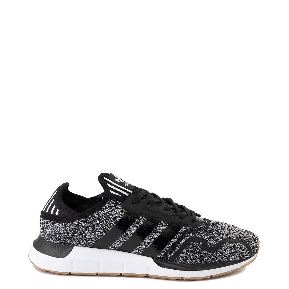 Mens adidas Swift Run X Athletic Shoe - Black / Grey