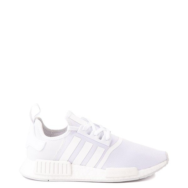 Main view of Mens adidas NMD R1 Athetic Shoe - White Monochrome