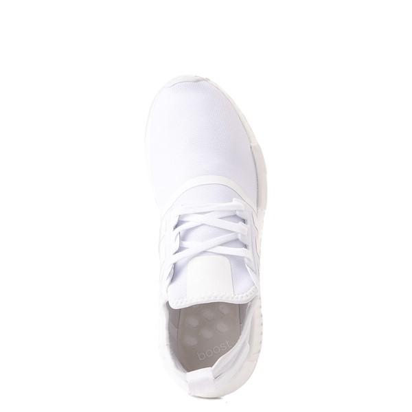 alternate image alternate view Mens adidas NMD R1 Athetic Shoe - White MonochromeALT4B