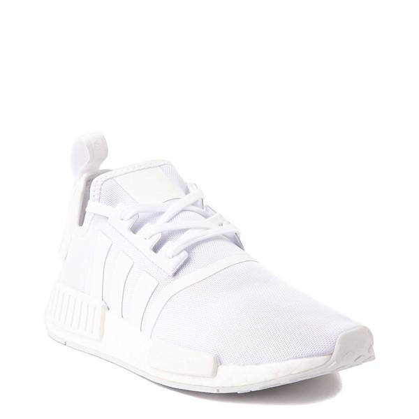 alternate image alternate view Mens adidas NMD R1 Athetic Shoe - White MonochromeALT5