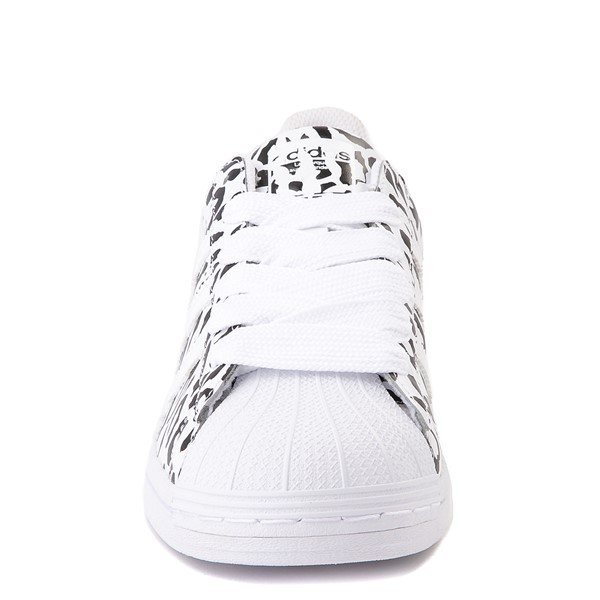 alternate image alternate view Womens adidas Superstar Athletic Shoe - Leopard / WhiteALT4