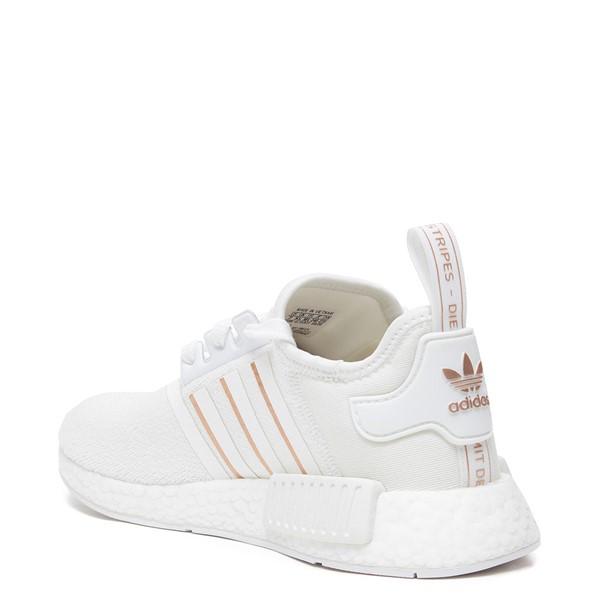 alternate image alternate view Womens adidas NMD R1 Athletic Shoe - White / Rose GoldALT2