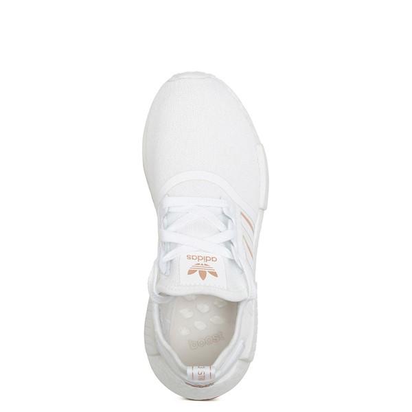 alternate image alternate view Womens adidas NMD R1 Athletic Shoe - White / Rose GoldALT4B