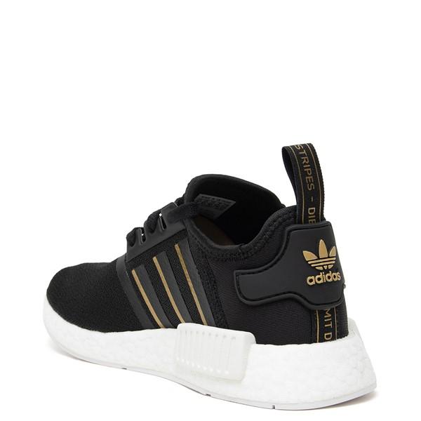 alternate image alternate view Womens adidas NMD R1 Athletic Shoe - Black / Rose GoldALT1