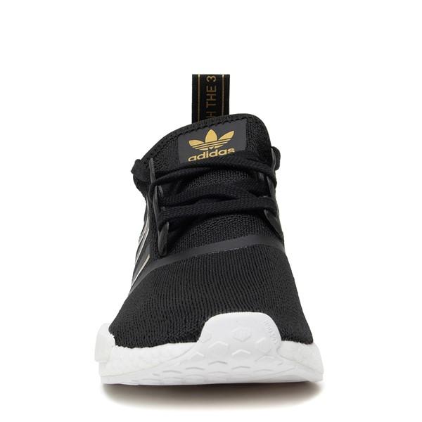 alternate image alternate view Womens adidas NMD R1 Athletic Shoe - Black / Rose GoldALT4