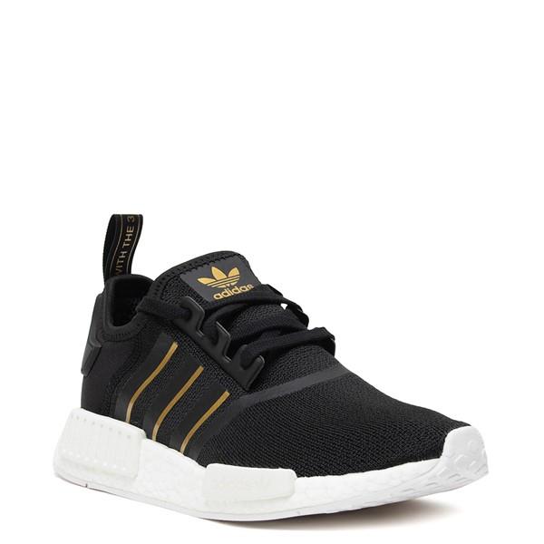 alternate image alternate view Womens adidas NMD R1 Athletic Shoe - Black / Rose GoldALT5