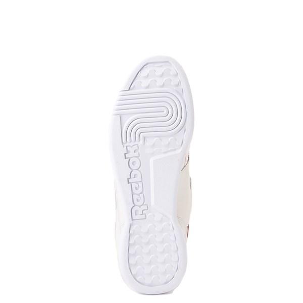 alternate image alternate view Womens Reebok Workout Plus Athletic Shoe - Chalk / MerlotALT5