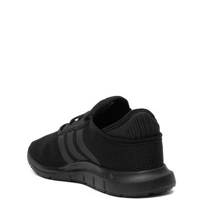 Alternate view of adidas Swift Run X Athletic Shoe - Little Kid - Black Monochrome