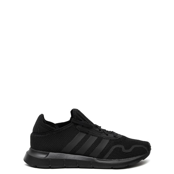 adidas Swift Run X Athletic Shoe - Big Kid - Black Monochrome